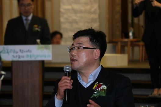 축사: 한국장애인단체총연합회 안진환 상임대표
